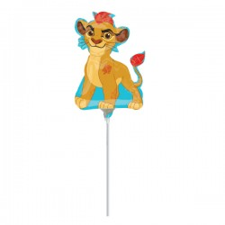 Balon mini figurina Regele Leu - Lion Guard - 36cm, Amscan 3464602