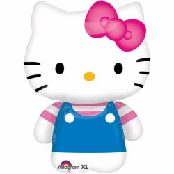 Balon Folie Figurina 56 x 76 cm, Hello Kitty Summer Fun, Amscan 2184363