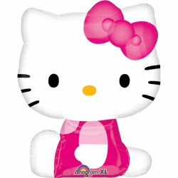 Balon mini figurina Hello Kitty, Amscan 21755 02