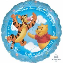 Balon rotund folie 45cm - It's A Boy - Winnie The Pooh, Amscan 09603 01
