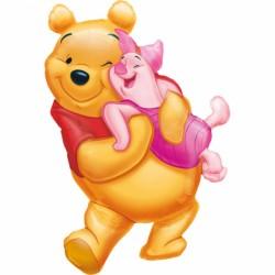 Balon Folie Figurina Winnie the Pooh, 51x81 cm, Amscan 07771 01
