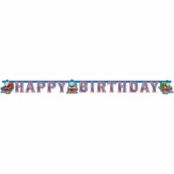 Banner Thomas and Friends Happy Birthday, 180cm, Amscan 552163