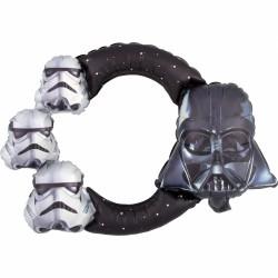 Selfie Frame Star Wars din Balon Folie Metalizată, S70, Amscan 3819001