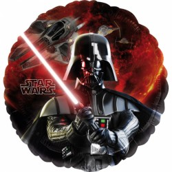 Balon folie metalizată Star Wars, 43 cm, Amscan 2568501