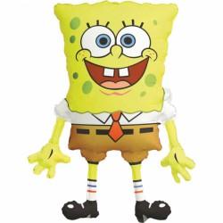 Balon folie metalizata Sponge Bob Pantaloni Patrati, 56 x 71 cm,...