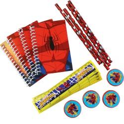 Set rechizite SpiderMan 16 buc./set, carnetele pentru notite, creioane,...