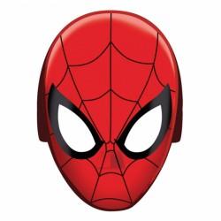 Masca Spiderman pentru petrecere copii, 8buc./ set, Amscan 360093-55
