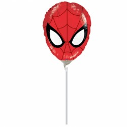 Balon mini figurina Spiderman, 23cm, Amscan 2633102