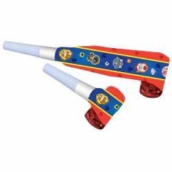 Suflatori (Blowouts) Paw Patrol, 8 buc./set, Amscan 9903832