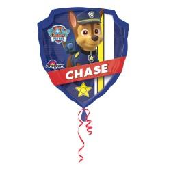 Balon folie metalizata, Paw Patrol, Chase, 63 x 68 cm, Amscan 3018201