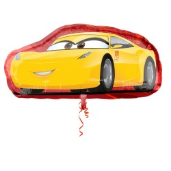 Balon Folie Figurina Cars - Cruz, 88 x 43cm, Amscan 3537101