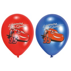 Baloane latex inscriptionate Cars - Lightning McQueen, 27,5 cm,...