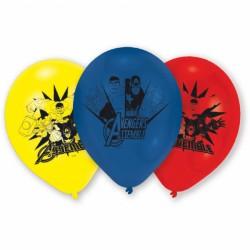 Baloane asortate din latex inscriptionate Marvel Avengers, 23...