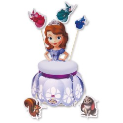Decoratiuni si suport pentru tort Sofia The First, Amscan 997167