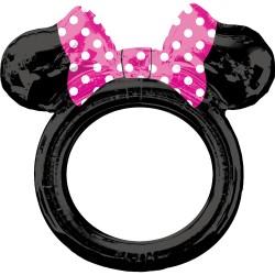Selfie Frame / Rama selfie Minnie Mouse din balon folie,      Amscan...