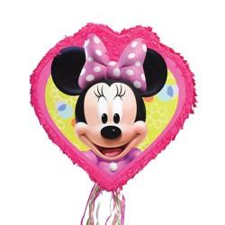 Pinata mare Minnie Mouse, cu sfori / panglici, Amscan P34104