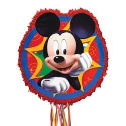 Pinata mare Mickey Mouse, cu sfori / panglici, Amscan P34106