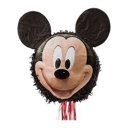 Pinata mare figurina Mickey Mouse, cu sfori / panglici, Amscan 9903155