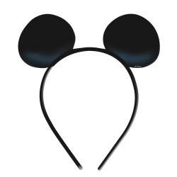 Coronita din plastic cu urechi MICKEY MOUSE, 4buc./set, Amscan 994158