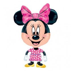 Balon Folie Figurina mini AirWalker Minnie Mouse, 55x78 cm,    Amscan...