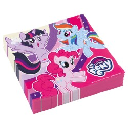 Servetele de masa My Little Pony, 33x33 cm, 20 buc./set,      Amscan...