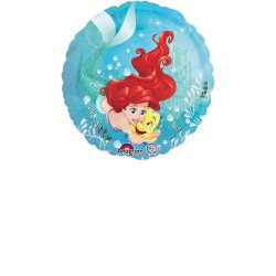 Balon folie metalizata  Mica Sirena Ariel Dream Big, 43cm, Amscan 3382301