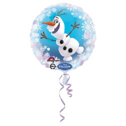 Balon folie metalizata Olaf Frozen, 43cm, Amscan 3064801