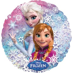 Balon folie metalizata Holografic Frozen, 43cm, Amscan 2755201