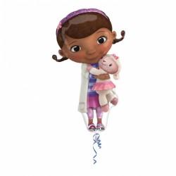 Balon figurina folie Doc Mcstuffins / Doctorita Plusica, 55x88 cm,...