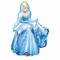 Balon figurina folie AirWalker Cenusareasa, 76x135cm,         Amscan...